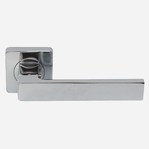 Ручка дверная Хайтек ROSSI CORNER LD 275 F21 Хром полированный