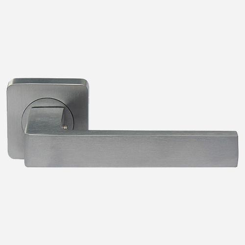 Ручка дверная Хайтек ROSSI CORNER LD 275 F21 Хром матовый
