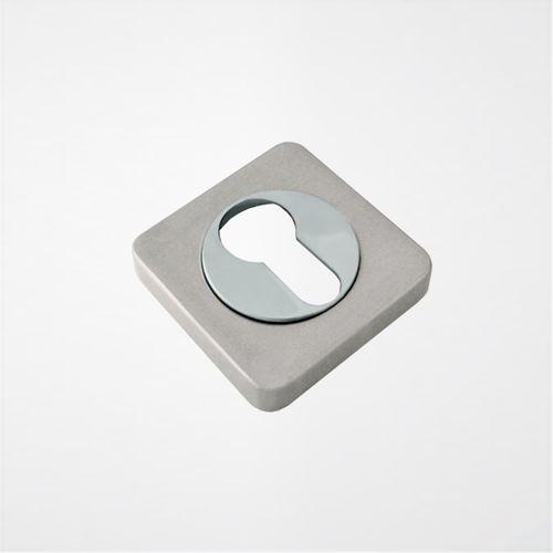 Накладка на цилиндр ROSSI ET-F21 Хром матовый