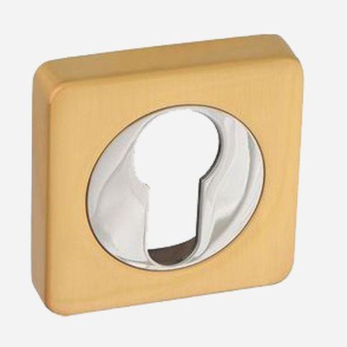 Накладка на цилиндр ROSSI ET-F21 Золото матовое