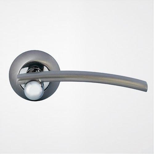 Ручка дверная Модерн ROSSI MEDAN LD 22 1 Никель матовый-никель
