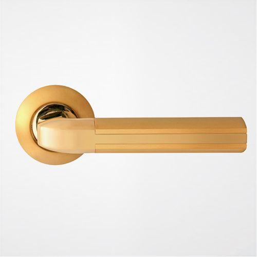 Ручка дверная Модерн ROSSI OPERA LD 298 2 Золото матовое-золото