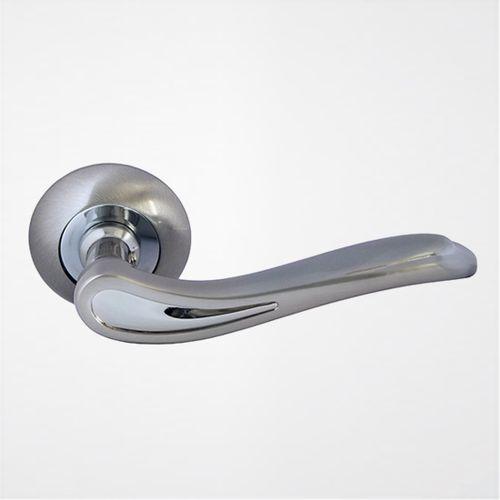 Ручка дверная Модерн ROSSI SIRIO LD 64 1 Никель матовый-никель