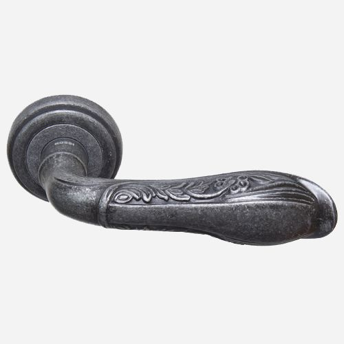 Ручка дверная Классика ROSSI TOLEDO LD 765 Серебро античное