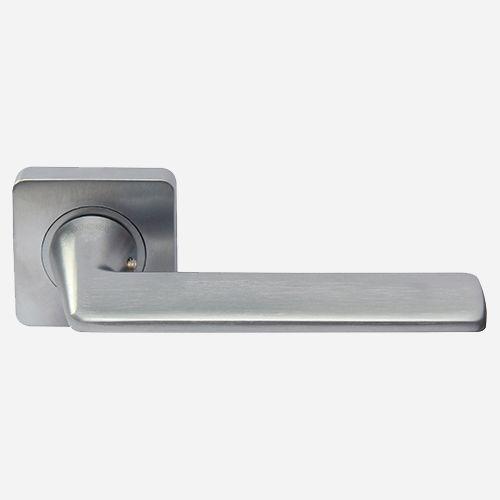 Ручка дверная Хайтек ROSSI TREND LD 300 F21 Хром матовый
