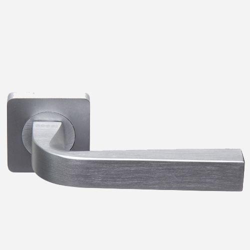 Ручка дверная Хайтек ROSSI ZANTE LD 200 F21 Никель матовый-никель