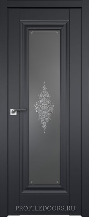 24U Черный матовый Кристалл графит Серебро