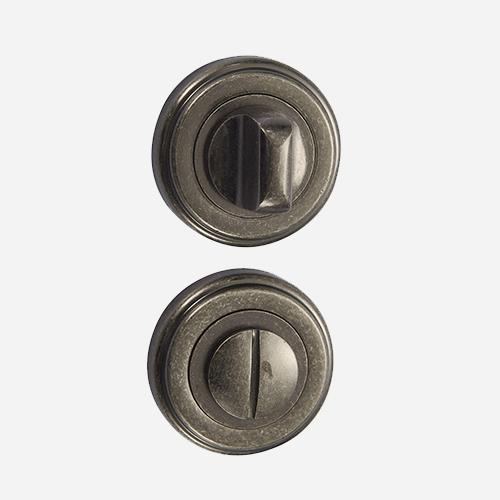 Накладка санузловая Vantage BK03AS Состаренное серебро