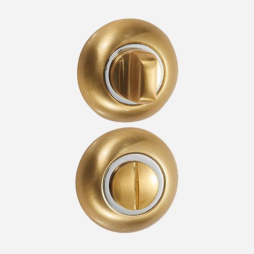 Накладка санузловая Vantage BKC Матовое золото