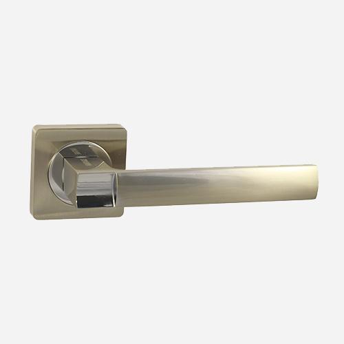 Ручка дверная ЦАМ Vantage V02D Матовый никель