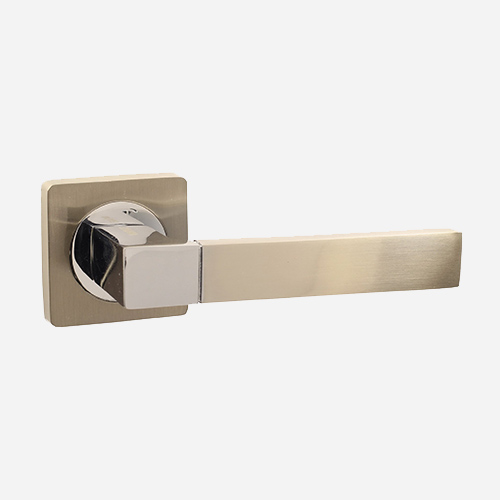 Ручка дверная алюминиевая Vantage V07D AL Матовый никель