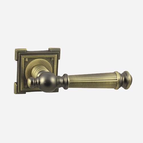 Ручка дверная ЦАМ Vantage V15M Матовая бронза