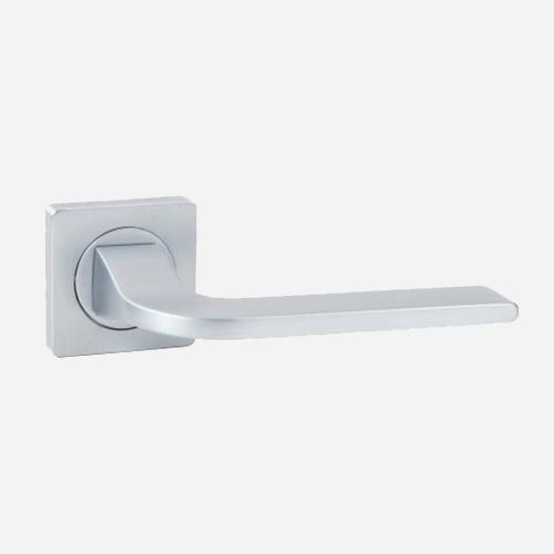 Ручка дверная алюминиевая Vantage V55L-2 AL Матовый хром