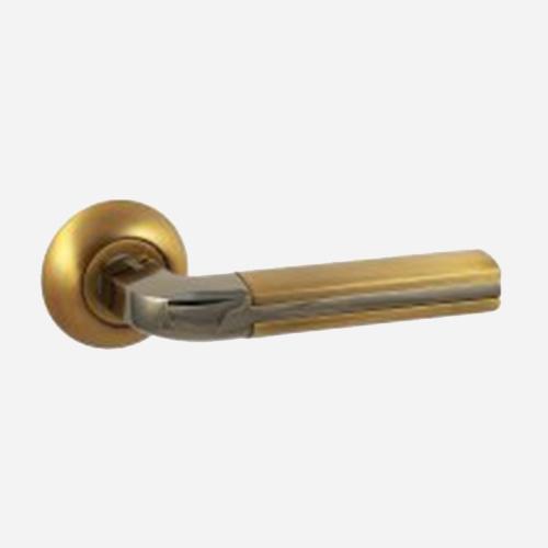 Ручка дверная ЦАМ Vantage V96ACF-BN Кофе-Черный никель