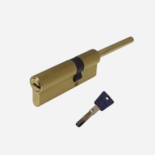 Цилиндр перфо-ключ Vantage LT60 30х30S SB Матовое золото