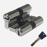Цилиндр перфо-ключ Vantage P60 30х30 CP Хром