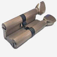Цилиндр перфо-ключ Vantage PC60 30x30 SN Матовый никель