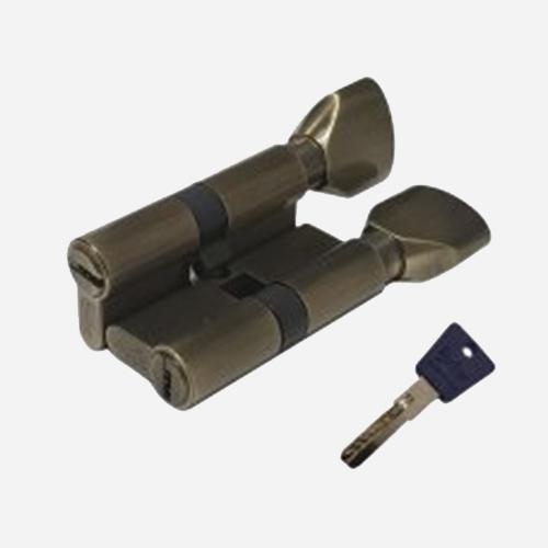 Цилиндр перфо-ключ Vantage PC60 30x30 AB Бронза