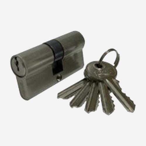 Цилиндр английский Vantage V60-530x30SN Матовый никель
