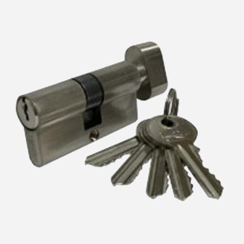 Цилиндр английский Vantage VC60-5 SN Матовый никель