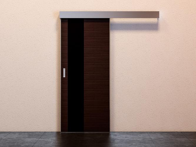 межкомнатная дверь купе закрытая