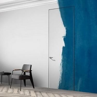 Скрытая дверь Invisible 0Z с грунтованой поверхностью