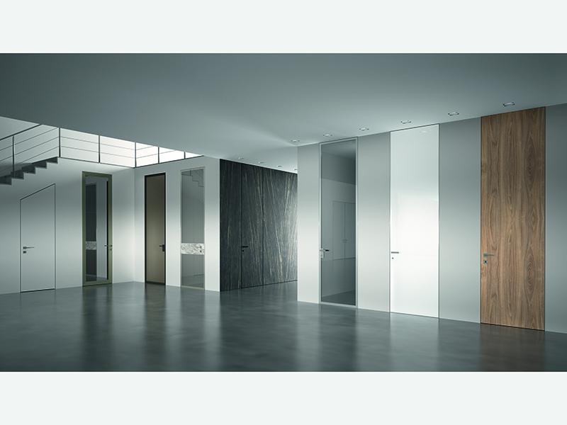 Какие же виды скрытых дверей (дверей невидимок) бывают?