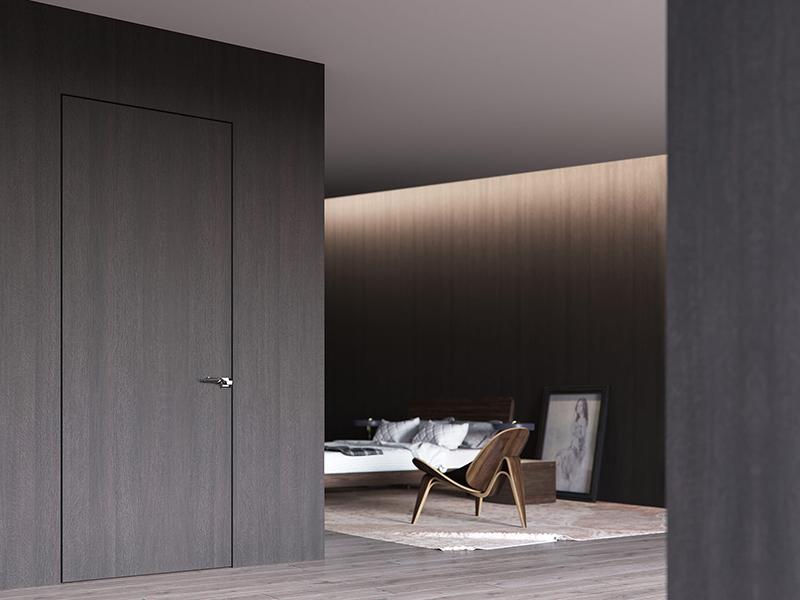Преимущество полотна скрытой двери невидимки и его характеристика.